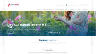 Bankmed Namibia Website